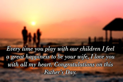 Image of: Wishes Fathers Day Quotes From Wife Top 20 Fathers Day 2018 Quotes From Wife Happy Fathers Day 2018