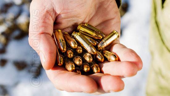 portar municao desacompanhada arma tipico direito