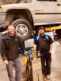 BG Brake Fluid service by Craig and Cody at Elysian Auto Service.