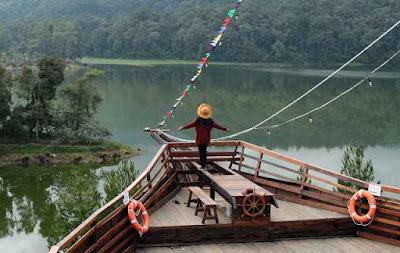 Lokasi Glamping Lakeside Rancabali Bandung