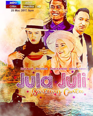 Sinopsis Telemovie Jula Juli Bintang Cinta, Senarai Pelakon Telemovie Jula Juli Bintang Cinta Arahan Osman Ali