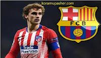 حقيقة عرض برشلونه لبيع جيرزمان لاتليتكو مدريد