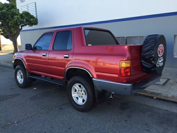 Runner Pickup Conversion - 4runner truck