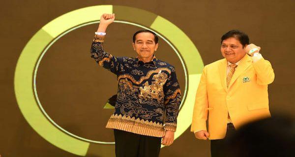 Golkar Lebih Militan Dukung Jokowi karena PDIP Merasa Kurang Difasilitasi