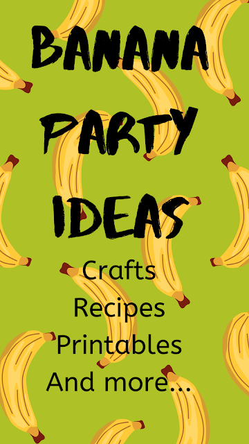 It's okay to go a little bananas while stuck inside as long as it's lots of fun! These banana party ideas are perfect for National Banana Day or anytime you want to let someone know you are bananas about them.