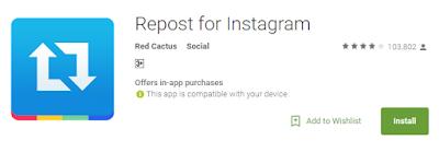 Cara regram /repost postingan di Instagram untuk iOS & Android