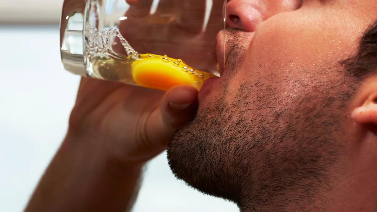 فوائد شرب البيض للرياضيين