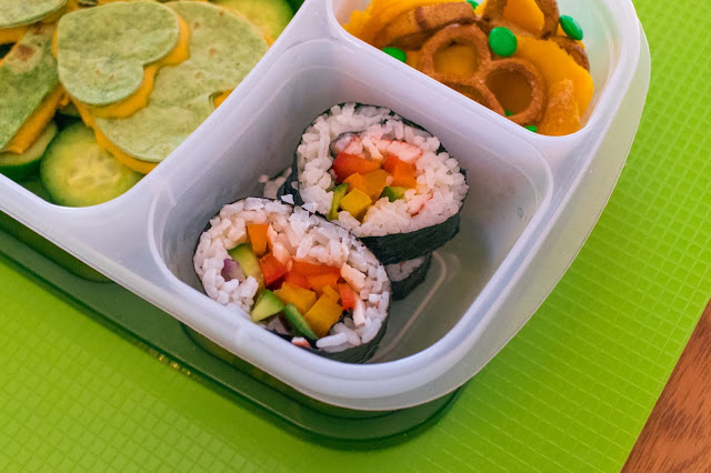 How to Make a Shamrock Quesadilla and Rainbow Sushi St. Patrick's Day Lunch Recipe