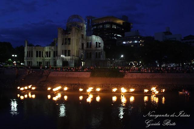Memorial da Paz de Hiroshima; Cúpula Genbaku; cúpula da bomba atómica; Hiroshima; Navegantes de Ideias