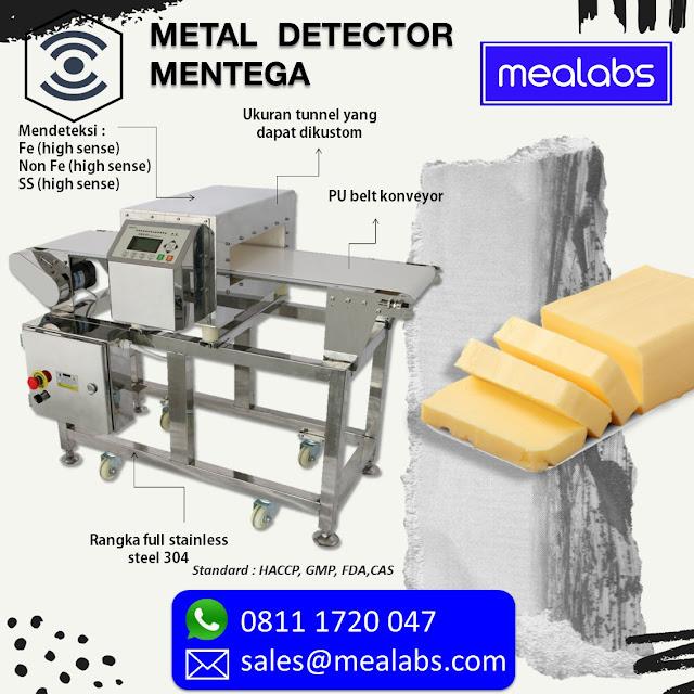 metal detector mentega