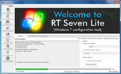 RT Seven Lite, Tweak Utility, Windows, Windows 7, System