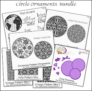 Stamps - Our Daily Bread Designs Circle Ornaments Bundle