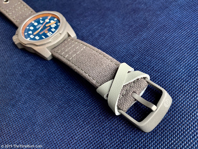 Ardor and Forge Rothrock Seeger blue strap