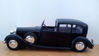 modelismo coche clásico