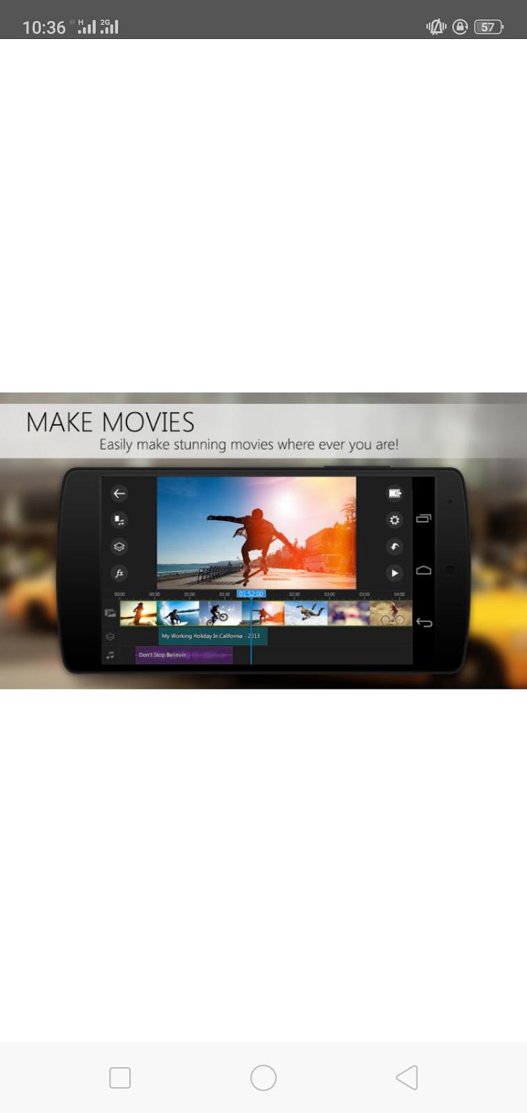 PowerDirector - Video Editor App, Best Video Maker Mod App