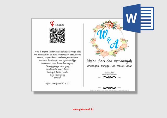 Download Undang Pernikahan Simpel Format Microsoft Word