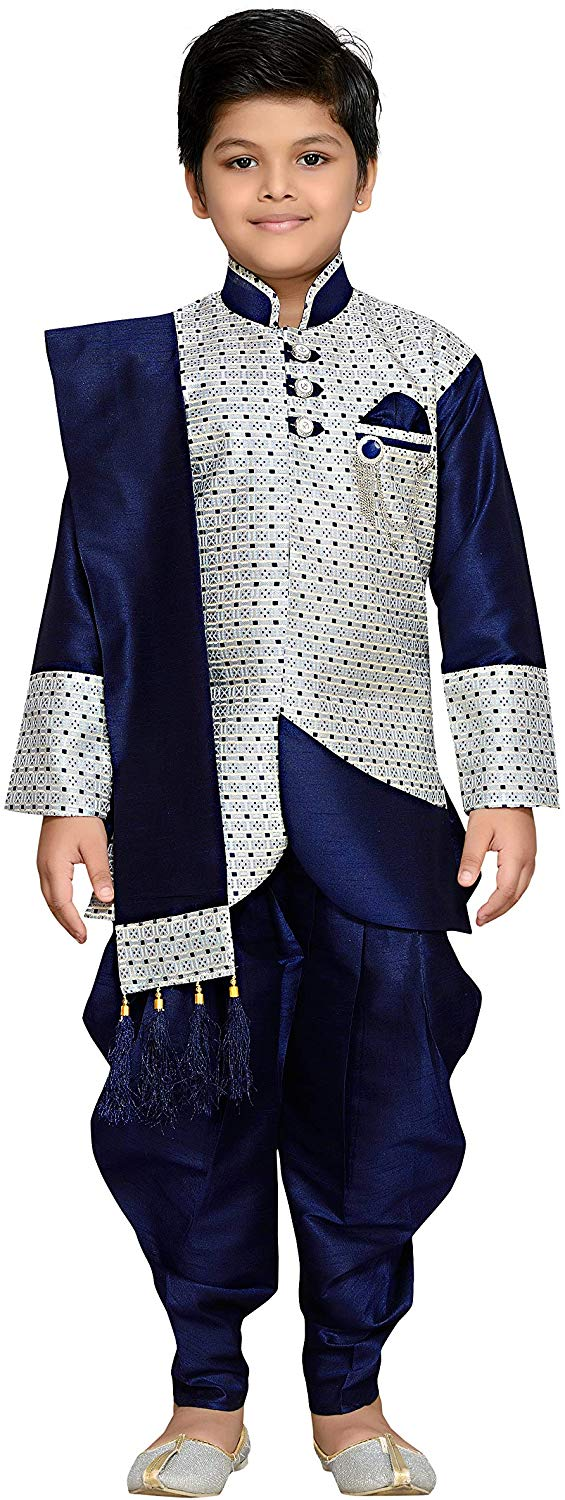 AJ Dezines kids festive Sherwani set for boys