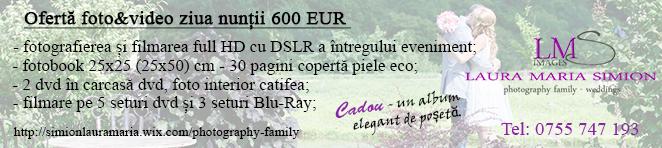 ofertă foto&video nunta Cluj