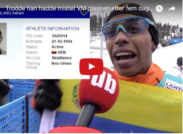 Adrián Solano nos representará en las Olimpiadas