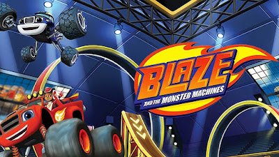 Gambar Mewarnai Blaze And The Monster Machines