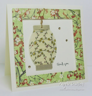 Stampin Up Too Terrific Tags, ODBD Custom Pierced Squares Dies, ODBD Custom Pierced Ovals Dies, Card Designer Angie Crockett