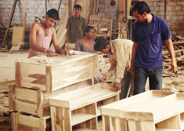 New Fair Trade Furniture in production