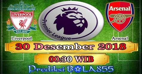 Prediksi Bola855 Liverpool vs Arsenal 30 Desember 2018