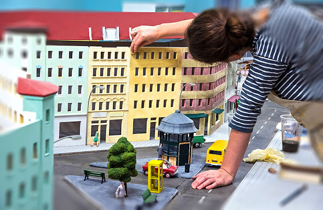Montagem das miniaturas do Little BIG City Berlin