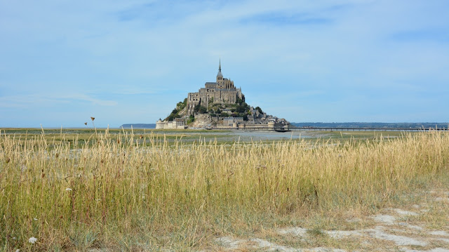 Views Mont Saint-Michel fields