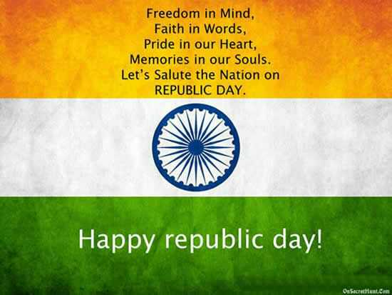 Republic Day Wishes 26 January
