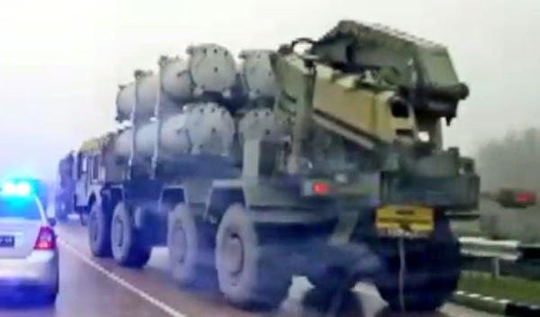 FOTOS: rusia esta desplegando misiles hacia la frontera de ucrania.