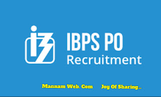 IBPS PO Recruitment for 1167 Probationary officer/ Management Trainee Vacancy