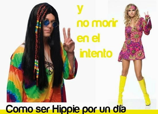 Como Transformarse y ser Hippie por un dia
