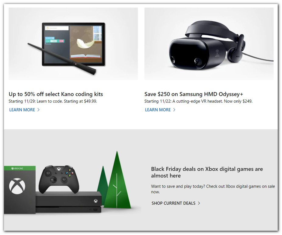 Microsoft Store Black Friday 2019 Page 5
