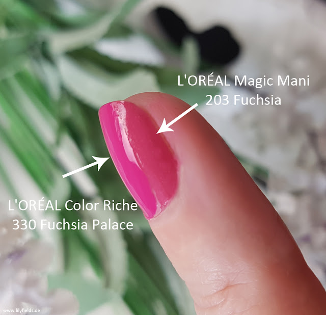 L'ORÉAL - Magic Mani 203 Fuchsia