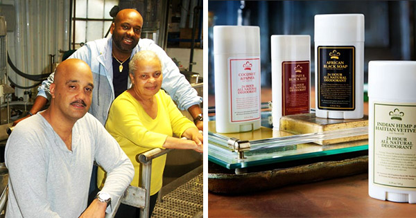 Founders of Black-owned Deodorant Brand
