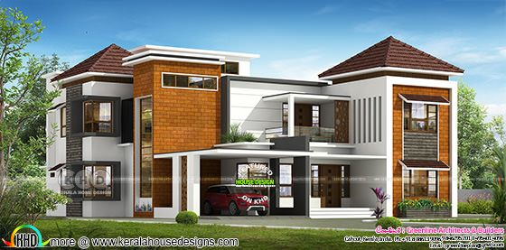 5 bedroom modern luxury residence design