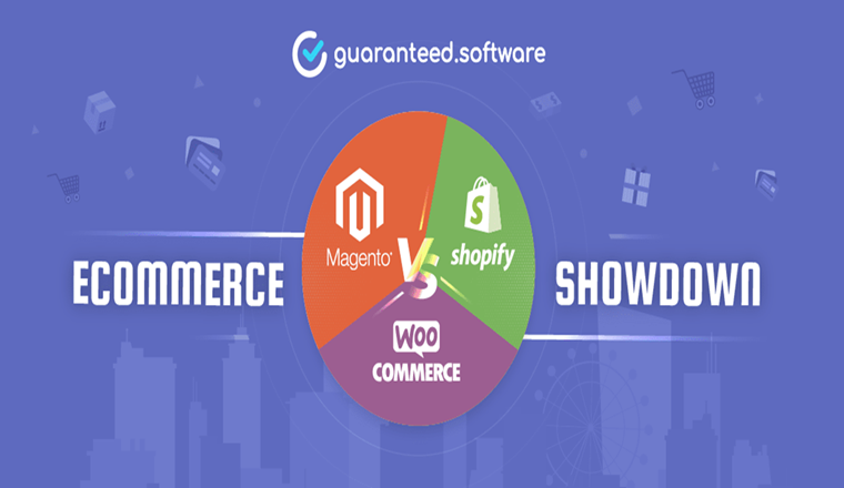WooCommerce vs Magento vs Shopify Three Best Online eCommerce Solutions Explained #infographic