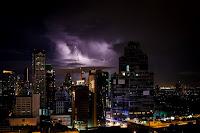 Storm Clouds over the city - Courtesy Unsplash.com