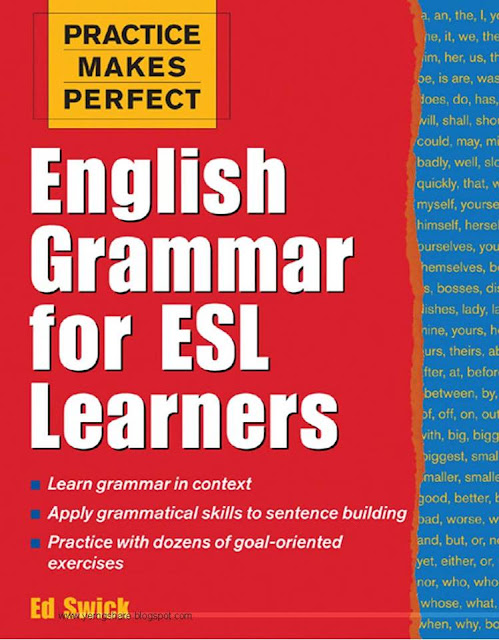 English Grammar for ESL Learners, With 100 Exercises