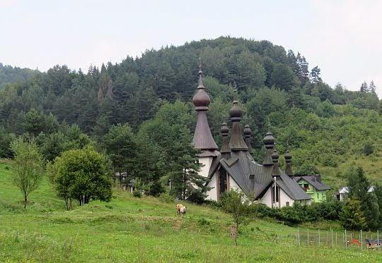 Cerkiew prawosławna św. Włodzimierza Wielkiego.