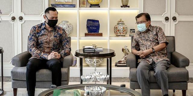 JK Yakin Jokowi Tidak Merestui Aksi Moeldoko