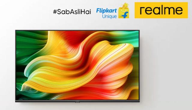 RealMe का नया Android Smart TV सिर्फ ₹12999 में बिक्री 2 जून से फ्लिपकार्ट पर