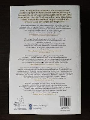 Sinopsis Buku Chairul Tanjung - Si Anak Singkong