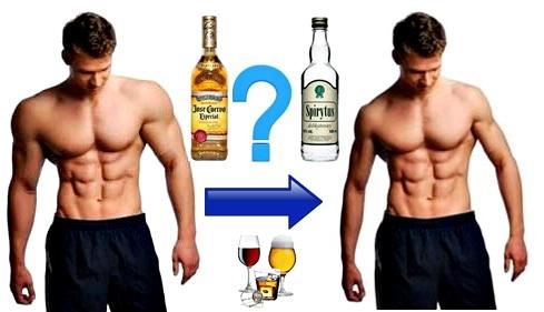 Pérdida masa muscular tomar alcohol