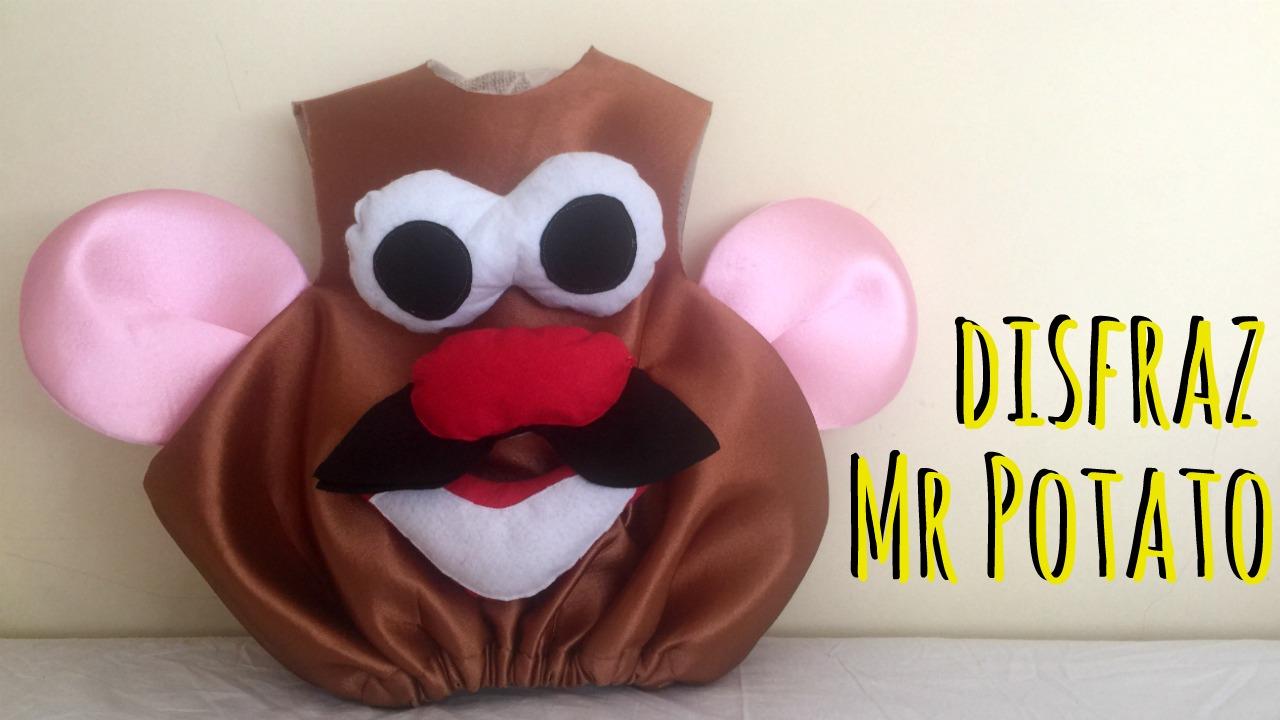 pinafili: DISFRAZ DE Mr POTATO. DIY