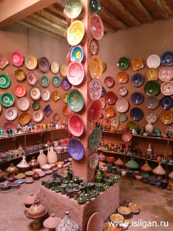 Мастерская керамики. Деревня Tamegroute. Марокко