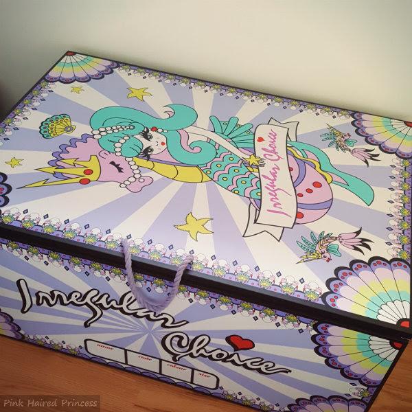 irregular choice mermaid storage chest