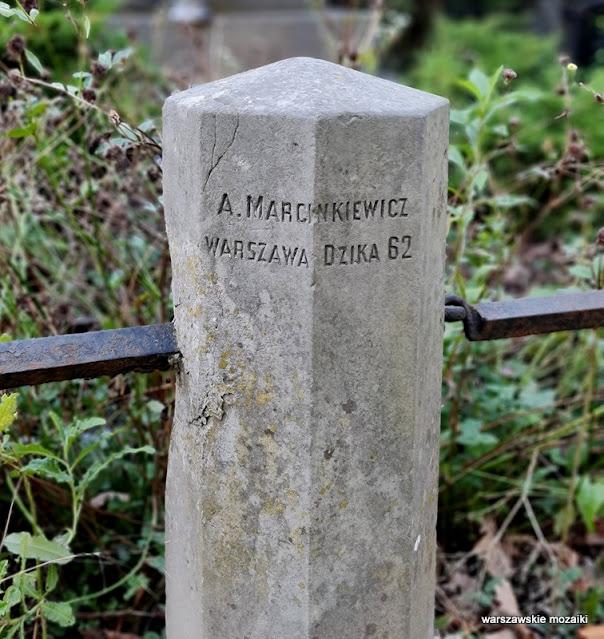 Warszawa Warsaw Wola Sowińskiego Wolska nekropolia warszawskie nekropolie nagrobek grób