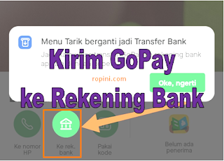 Cara Transfer GoPay ke Rekening Bank Terbaru 2020